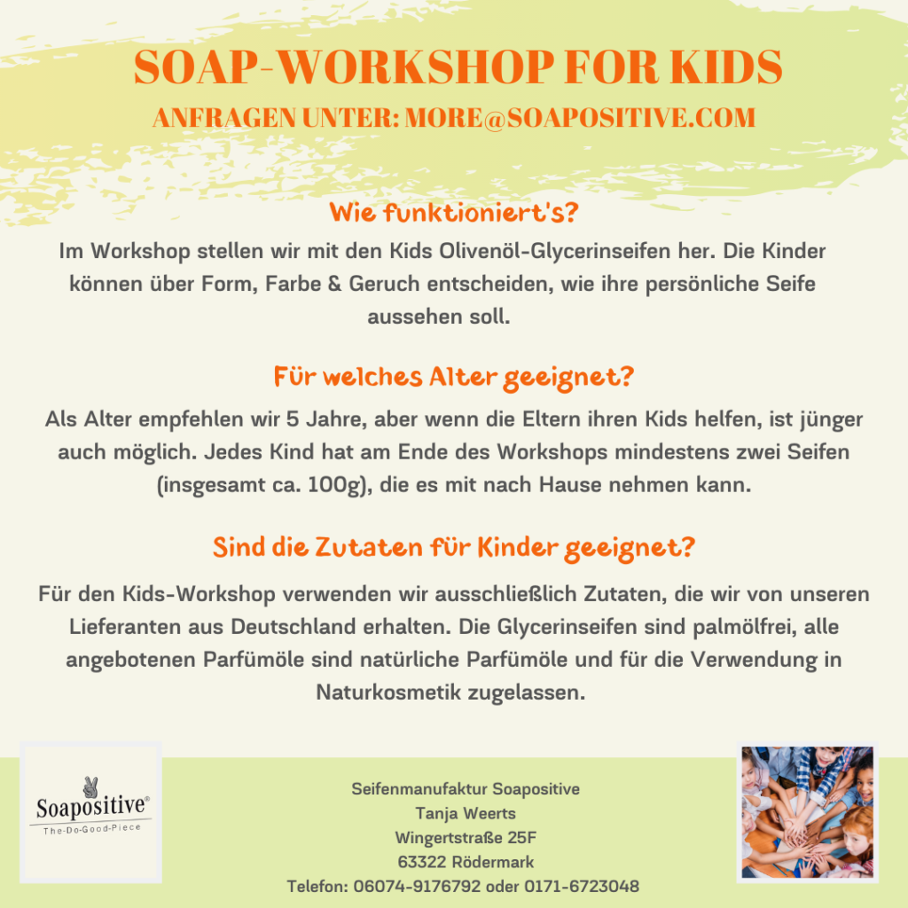 Workshop Infos